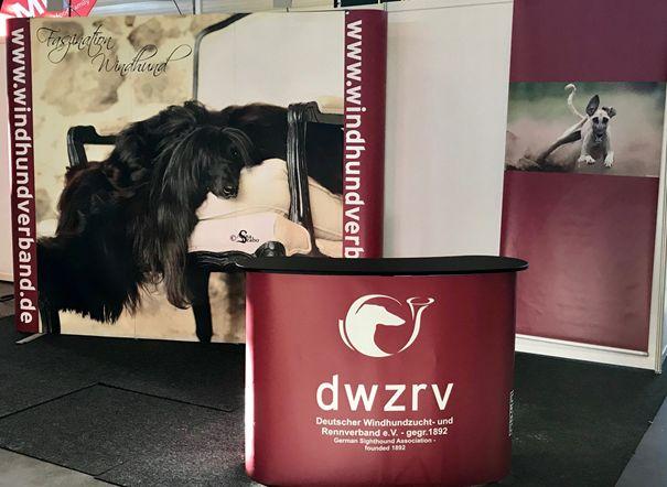 Infostand der DWZRV auf der Doglive 2019
