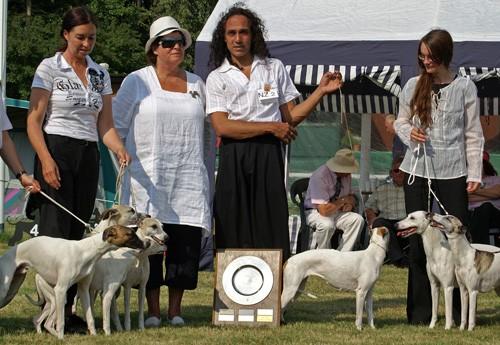 Gewinner Nachzuchtgruppenwettbewerb 2007 Koseilata's Josphine Baker